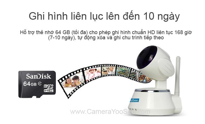 camera không dây yoosee, camera khong day yoosee, camera không dây ghi hình trên thẻ nhớ, camera khong day ghi hinh vao the nho