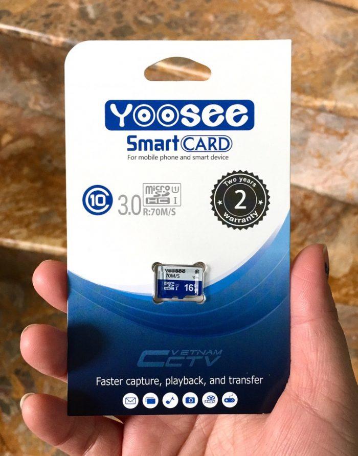 Thẻ nhớ YooSee, Thẻ nhớ MicroSD chính hãng dành cho camera YooSee và các loại camera Wifi khác