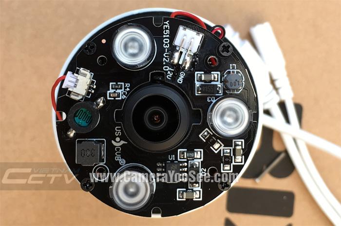 Camera IP wifi YooSee 3D YS360 full HD 1080P ngoài trời hỗ trợ âm thanh 2 chiều, hồng ngoại camera ip wifi yoosee ngoài trời