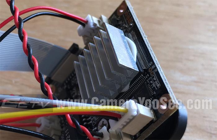 Camera IP wifi YooSee 3D YS360 full HD 1080P ngoài trời hỗ trợ âm thanh 2 chiều, tản nhiệt cho camera YooSee full HD 1080P