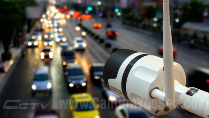 Camera IP wifi YooSee 3D YS360 full HD 1080P ngoài trời hỗ trợ âm thanh 2 chiều