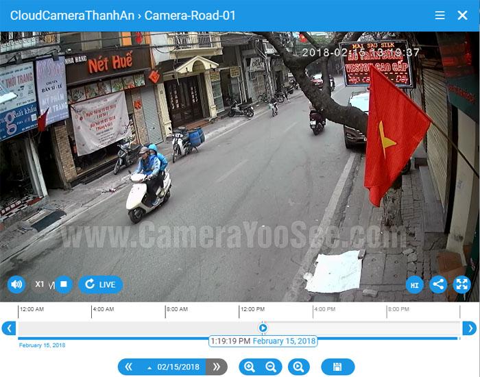 Xem camera trực tuyến qua cloud trên macbook