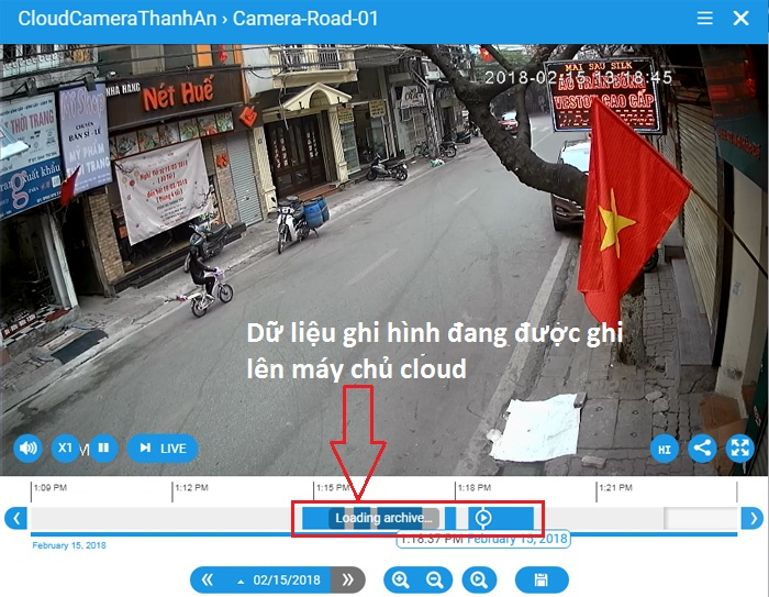 Xem lại camera ip wifi yoosee trên cloud