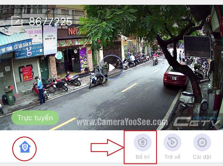 Hướng dẫn kích hoạt chức năng báo động chuyển động qua email trên camera YooSee
