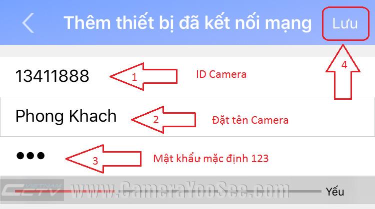 Xem camera YooSee trên điện thoại