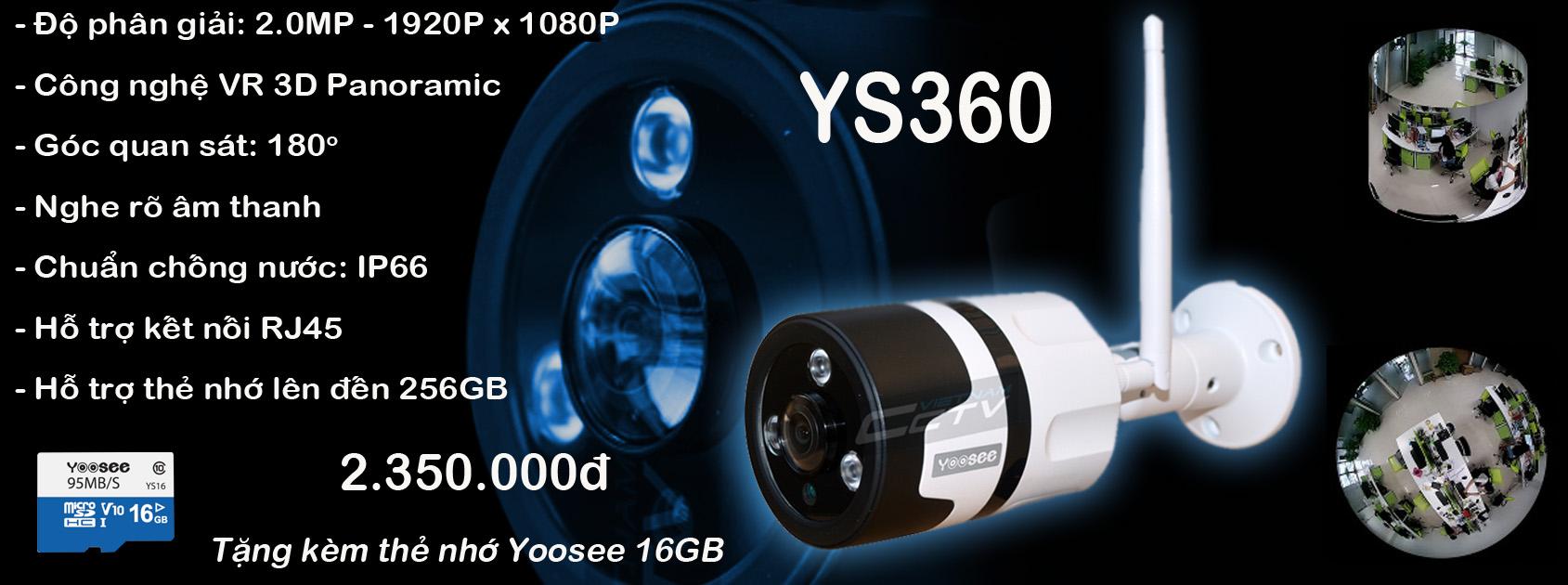 camera yoosee ys360