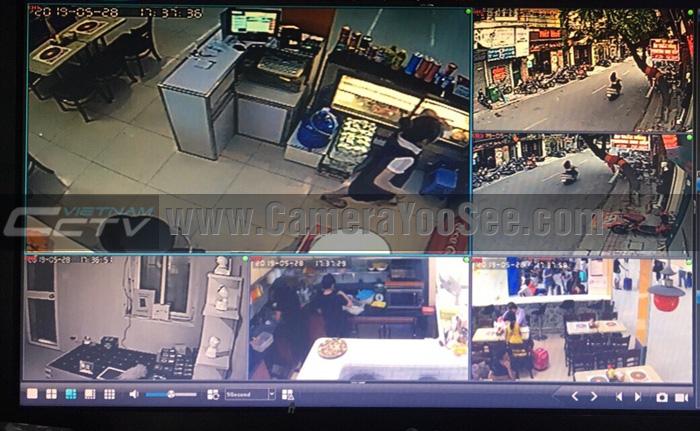Xem nhiều camera YooSee trên màn hình TV bằng đầu ghi hình YooSee 16 kênh