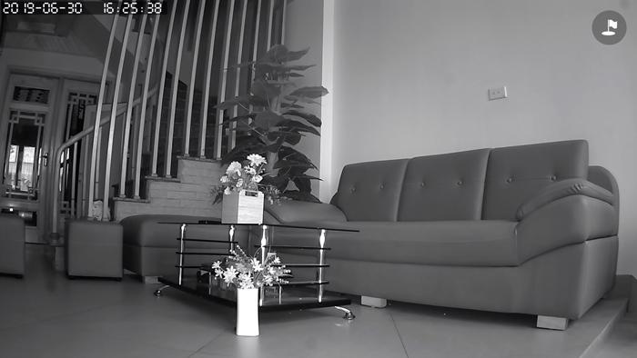 Chất lượng hồng ngoại ban đêm của camera YooSee