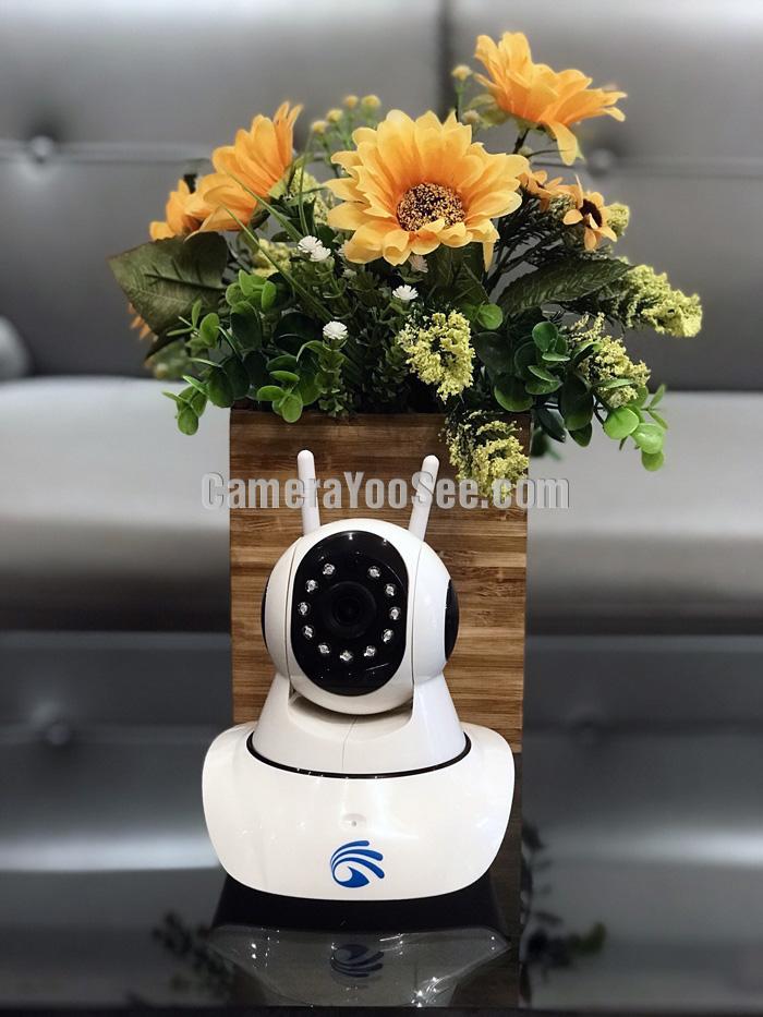 Camera YooSee kết nối cảm biến báo động tách cửa