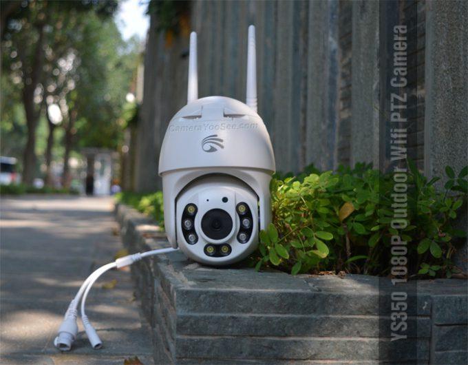 Camera YooSee quay quét 360 độ ngoài trời có màu ban đêm YS350