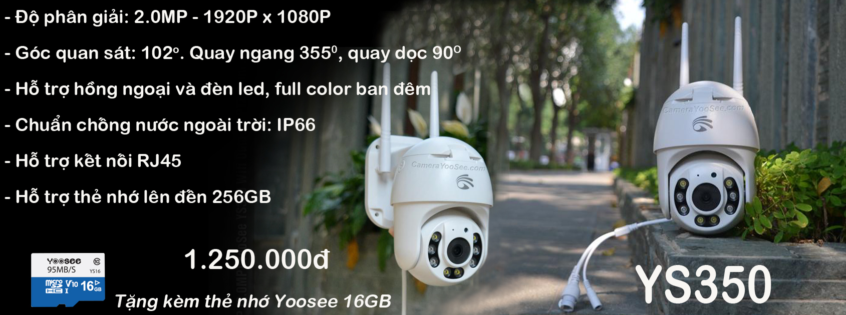 Camera Yoosee YS350