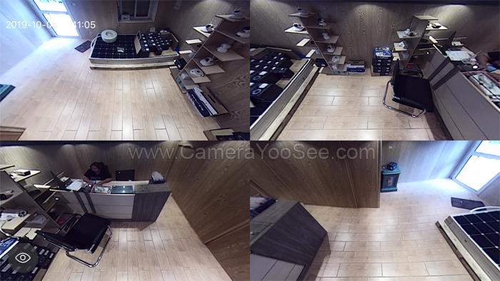 Camera wifi 3D YooSee góc nhìn rộng bằng 4 camera thường