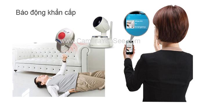 camera không dây yoosee, camera khong day yoosee, camera báo động khẩn cấp, camera báo động cho người già