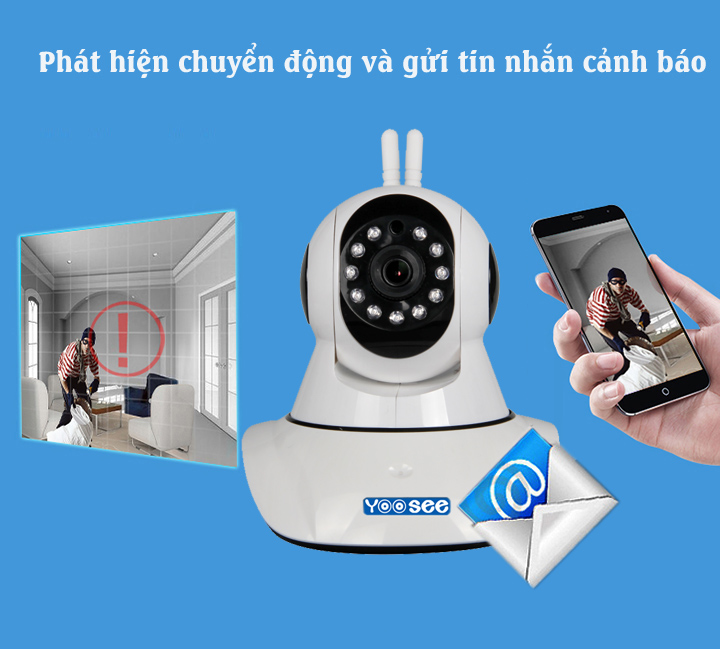Camera IP wifi YooSee YS1500 - 8