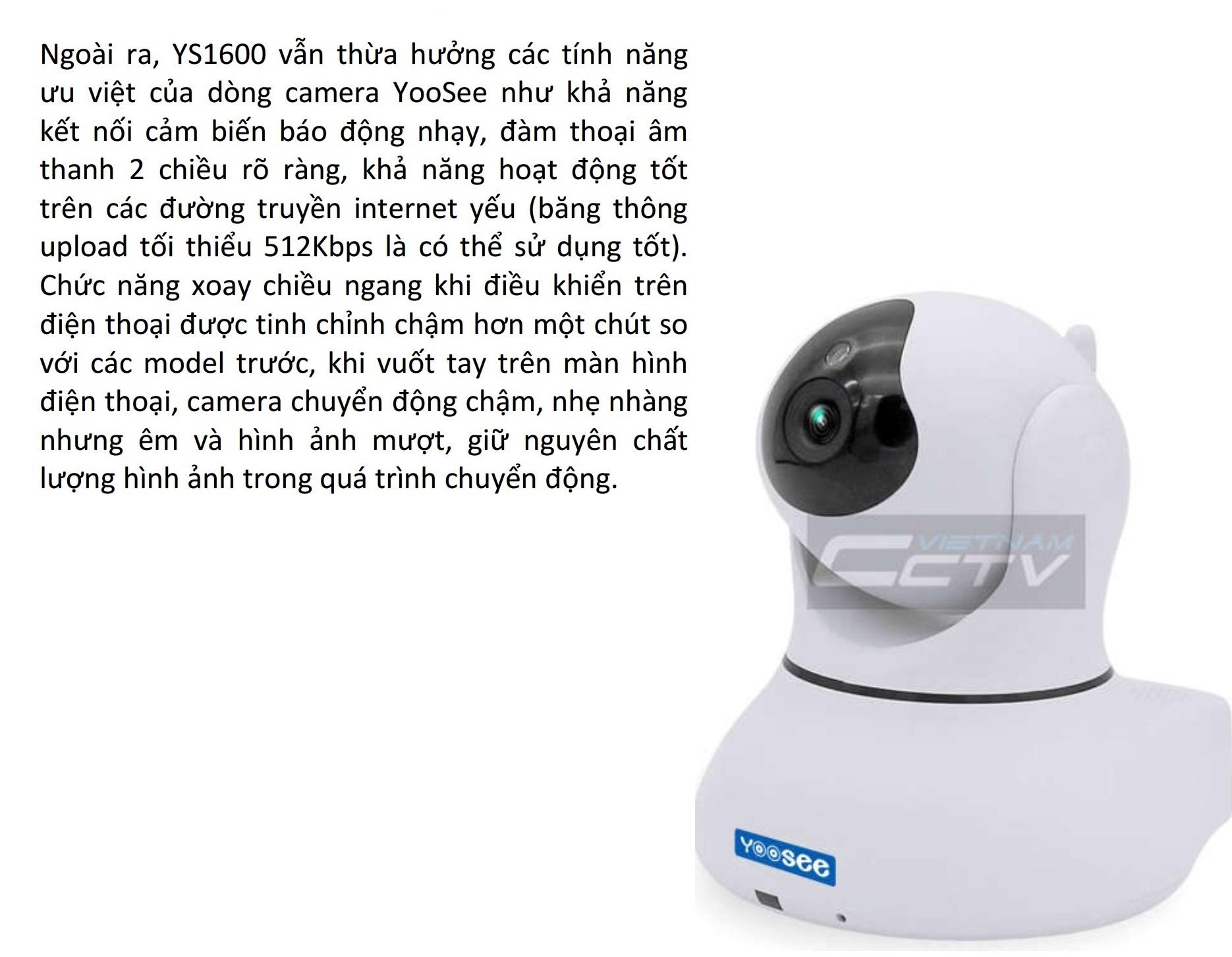 Camera không dây Yoosee YS1600