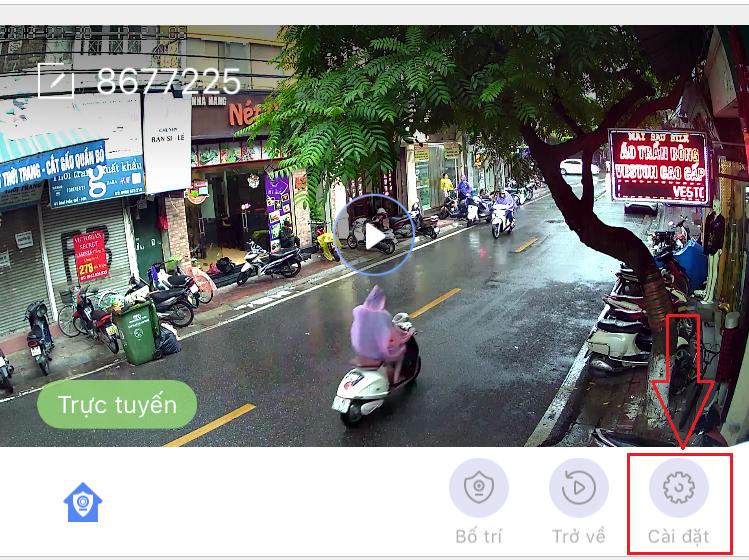 Hướng dẫn lấy địa chỉ MAC của camera IP wifi YooSee