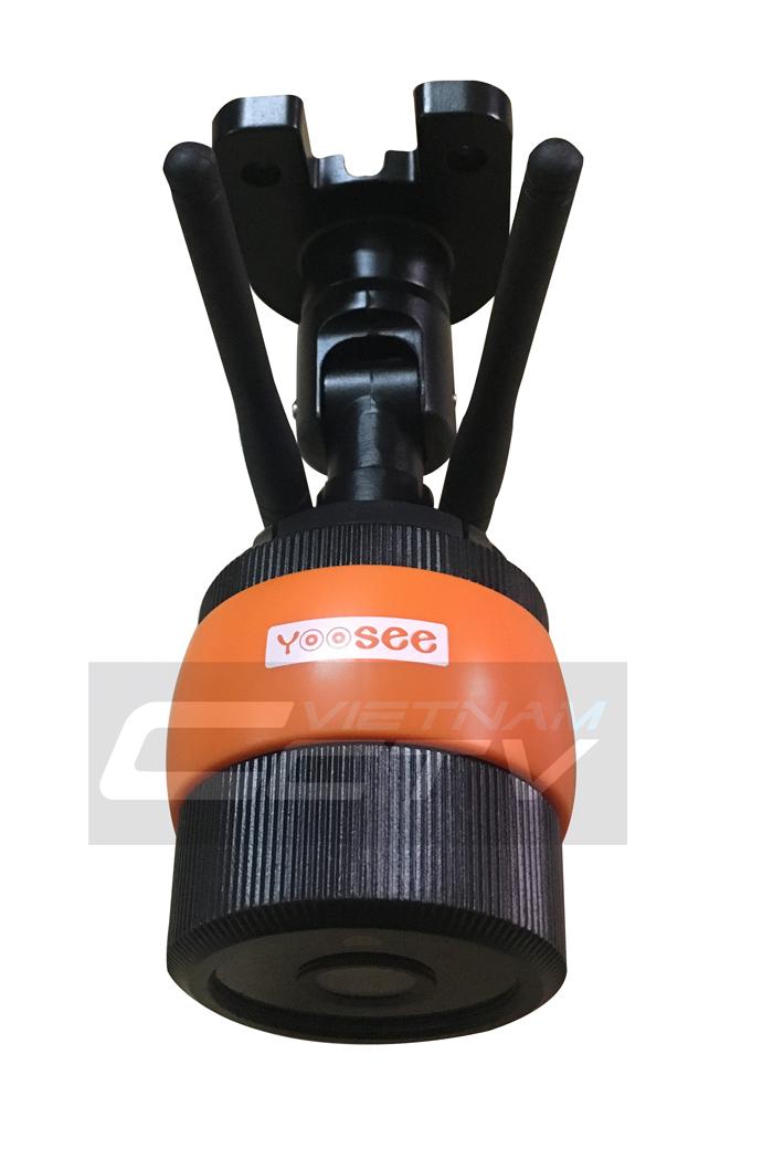 Một số hình ảnh thực tế khác của Camera YooSee YS130 ngoài trời: