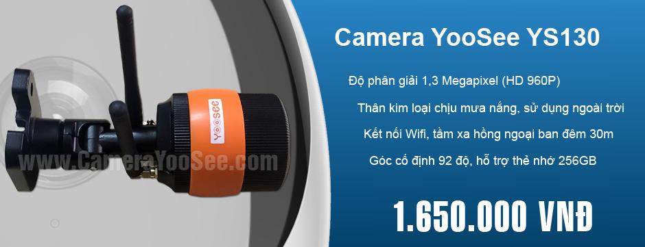 Phân phối camera IP wifi YooSee chính hãng tại Việt Nam, YooSee YS130