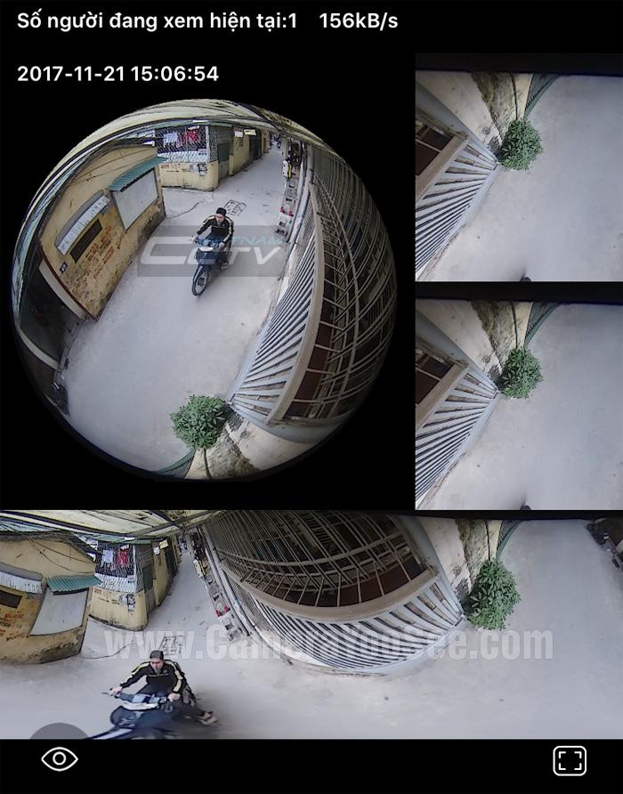 """YS360 sử dụng phần mềm YooSee, hỗ trộng công nghệ 3D (Panoramic) ảo hóa hình ảnh cho phép người dùng quan sát toàn bộ không gian và mà không có góc """"chết"""". Camera YooSee YS360 thân kim loại chịu nắng mua, hỗ trợ âm thanh 2 chiều và khả năng thu cảm biến báo động không dây ấn tượng. Hình ảnh bo mạch của YooSee full HD Panoramic"""