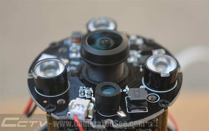 Camera YooSee VR 3D Panoramic full HD1080P ngoài trời
