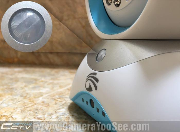 Cảm biến thân nhiệt của camera YooSee YS1700