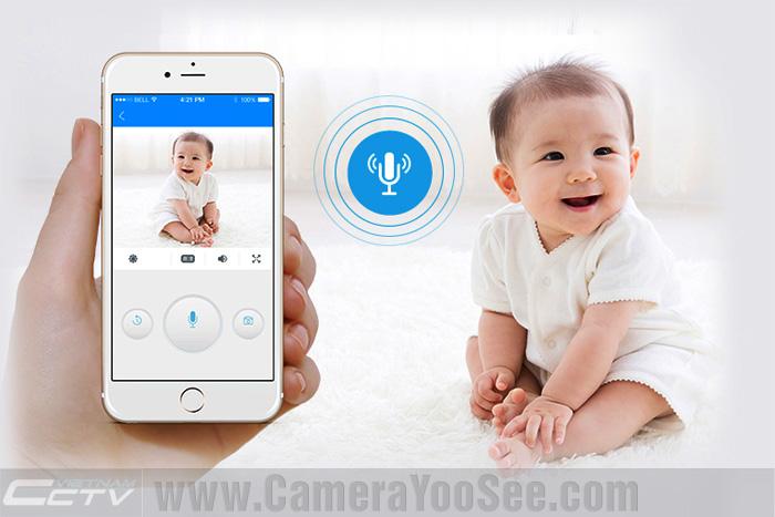 Camera Wifi đàm thoại 2 chiều YooSee chính hãng