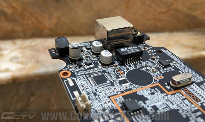 Bo mạch camera YooSee có tụ nhôm rắn lọc điện chống treo camera