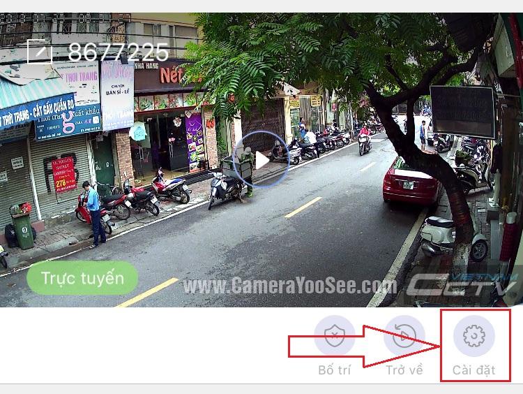 Hướng dẫn cài đặt email báo động trên camera YooSee