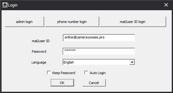 Phần mềm YooSee CMS trên máy tính phiên bản mới nhất