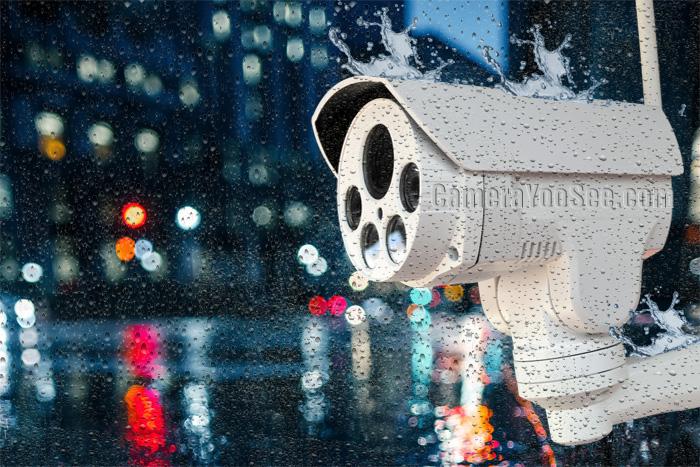 Camera YooSee ngoài trời YS300 zoom quang 4X, quay quét tích hợp âm thanh