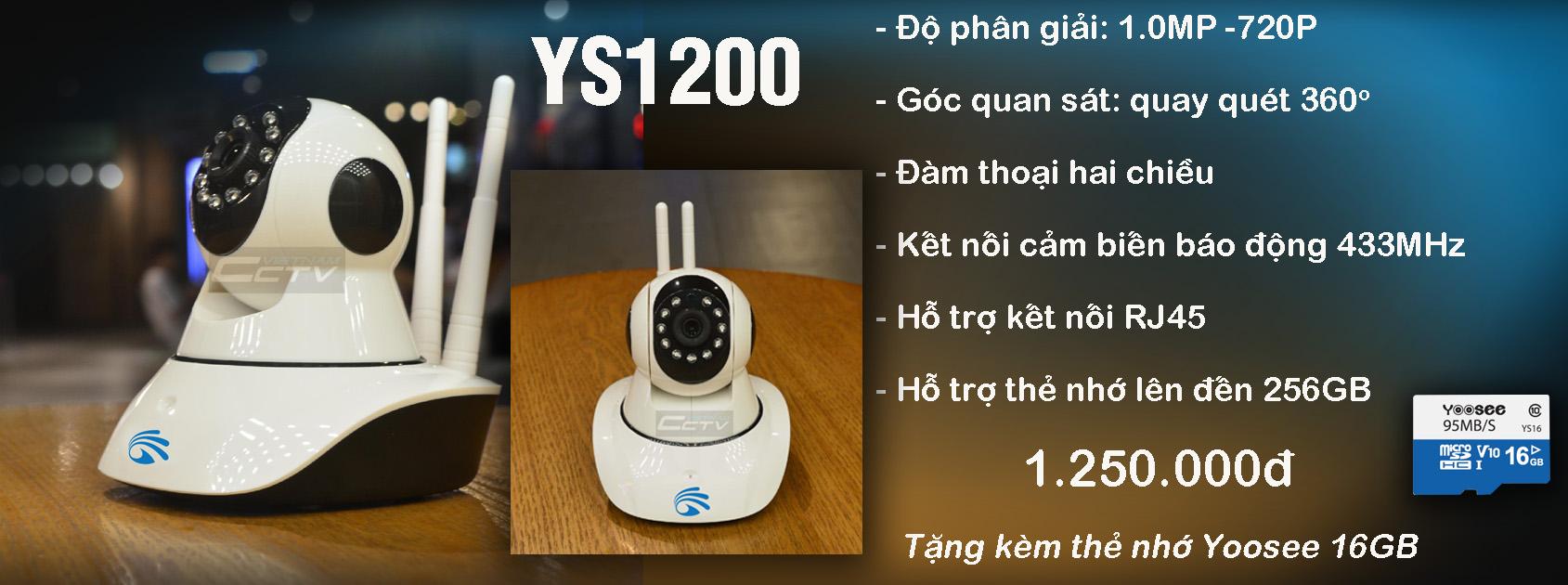 camera yoosee ys1200