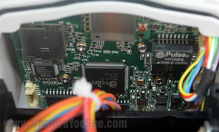 Hình ảnh thực tế bo mạch camera YooSee chính hãng