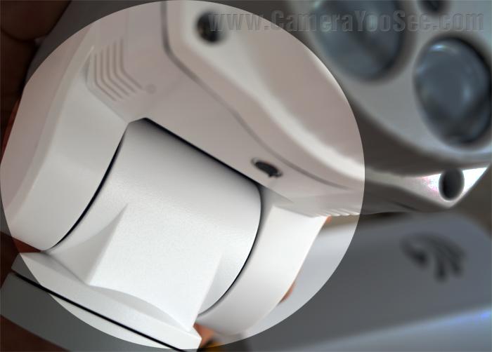 Mô tơ quay quét của camera wifi YooSee YS300