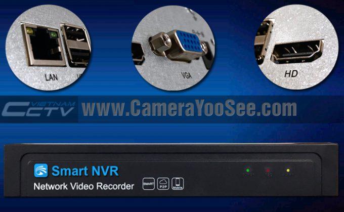 NVR YooSee, đầu ghi hình dành cho camera YooSee