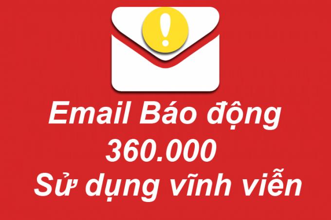 Email báo động dành cho camera YooSee